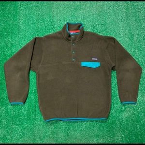 Patagonia Synchilla Snap T Fleece Pullover Jacket
